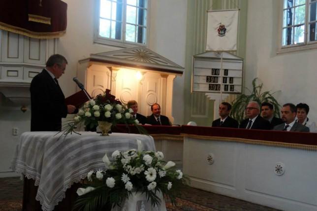 Gondnoki köszöntőt mondott Borsodi János.